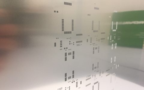 SMT foils and frames